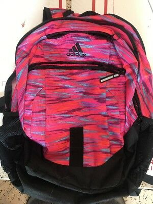 ae29a0b1bd ADIDAS FOUNDATION III Laptop Backpack Tech Friendly Media Safe load ...