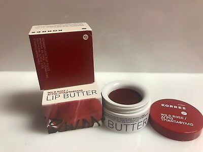 Korres Lip Butter Wild Rose  6.00g/0.21 Oz COLOR: Wild Rose - sheer deep red