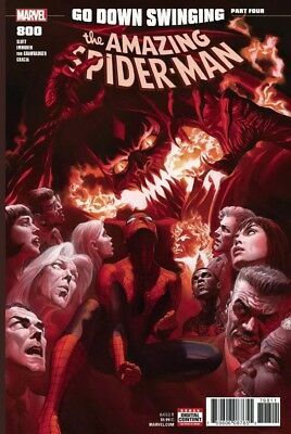 AMAZING SPIDER-MAN #800 Alex Ross Regular Cover Red Goblin NM B122