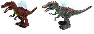 Walking Dinosaur Spinosaurus Toy Light Sound Moving Action Boys Kids Cool Gift