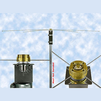 BASE GROUND PLANE KIT NMO to SO-239 CONNECTOR