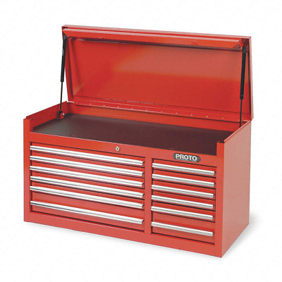 "Proto Red Heavy Duty Top Chest, 19"" H X 41"" W X 18"" D - J444119-12RD"