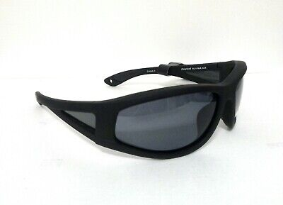 dd070c1175 Body Glove Fl 1A Polarized Floating Sunglasses Black Smoke Wrap 5-1103