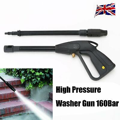 High Pressure Washer Spray Gun Lance Replacement Trigger 160Bar Jet Water Gun