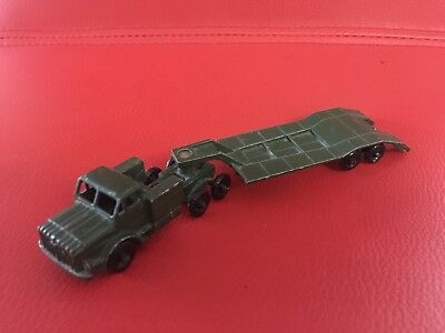 Matchbox Thorneycroft Antar And Sankey 50 Ton Tank Transporter