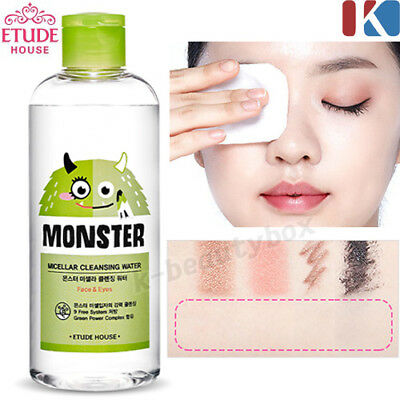 Monster Micellar Cleansing Water 300ml No-Wash! Cleansing Water Makeup Cleanser