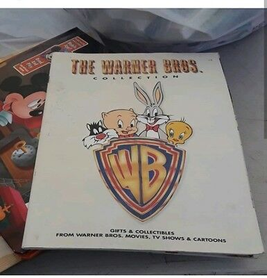Vintage Warner Brothers Bros Collection Catalog 80s 1988 Magazine Looney Tunes