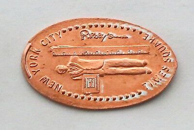 NEW YORK CITY TIMES SQUARE - RIPLEY'S elongated penny