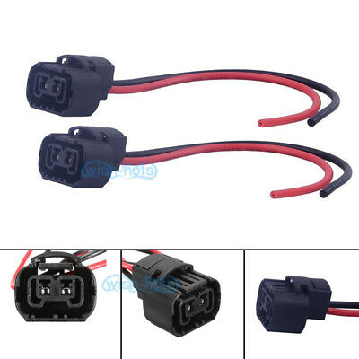 Wire Pigtail Female PS24W 5202 12086 Fog Light Two Harness Bulb Connector Plug