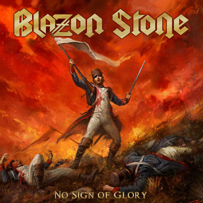 Blazon Stone - No Sign of Glory  Sweden Premier Power Metal Official Stormspell