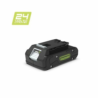 Greenworks 24V Lithium-ion 2Ah Battery - No charger included - 2902707