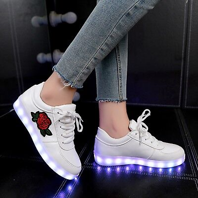 Kids LED Glowing Shoes Luminous Light Sneakers Casual Shoes For Boys And Girls