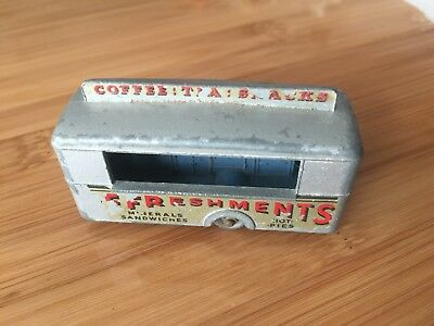Matchbox Lesney No74 Mobile Canteen