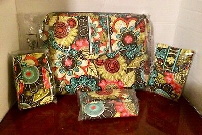 Disney Vera Bradley Nwt 4-Pc Mixed Lot Perfect Pedals Flower Shower Not Stock🌺