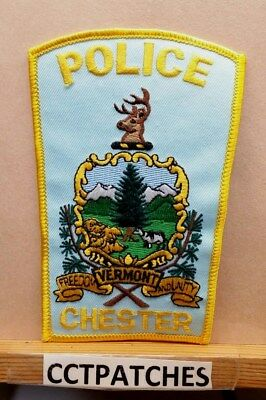 Chester, Vermont Police Shoulder Patch Vt