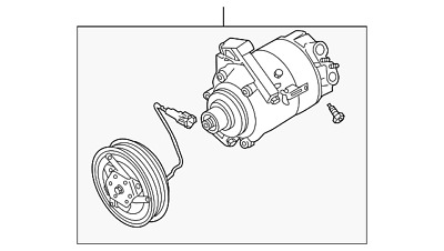 Genuine Nissan Compressor Assembly 92600-EV00A