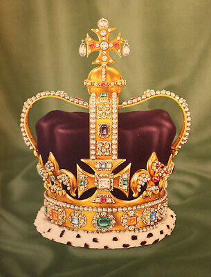 Splendid Illustrated Mid Century Book, The Crown Jewels, 1953, Dropmore
