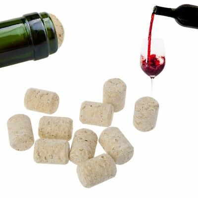 3/15pcs Straight Bottle Wood Corks Wine Stoppers Plug Bar Tools Sealing Caps New