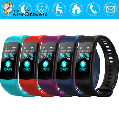 Smart Bracelet Wristband Watch Heart Rate Monitor Blood Pressure Fitness Tracker