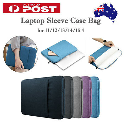 "Durable Laptop Sleeve Case Bag for MacBook Microsoft DELL HP 11""12""13""14""15"" AU"