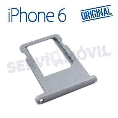 Original Apple Iphone 6 Sim Karte Tray Spacegrau Einschub