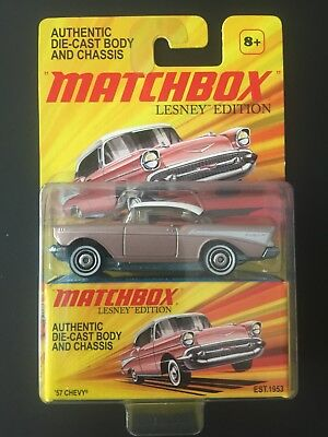 Matchbox Lesney Edition Authentic Die-Cast Body And Chassis 57 Chevy