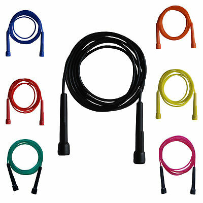 Skipping Rope Nylon Adjustable Jump Boxing Fitness Speed Rope Training Gym MMA B