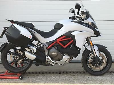 Ducati Multistrada 1200S Touring - immaculate 3537 mile example !!
