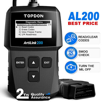 Universal OBD2 Fault Code Scanner Reset Tool Car Diagnostic Reader Energy Check