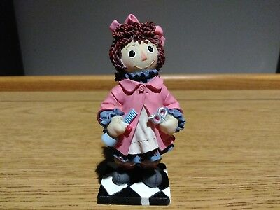 "Enesco RAGGEDY ANN & ANDY ""You're A Cut Above The Rest"" Figurine Simon&Schuster"