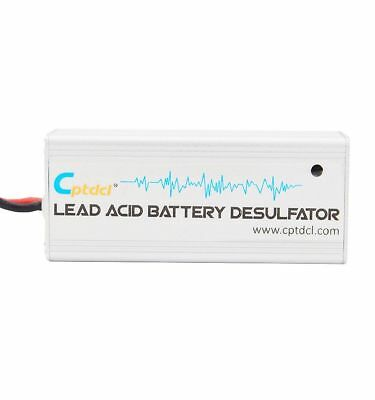 Upgrade 12V Lead Acid Battery Desulfator for Motorcycles Boat Battery Maintainer