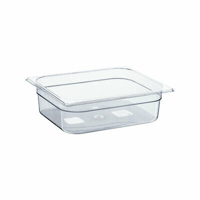 Gastronormbehälter NEW MODEL Polycarbonat GN 1/2 325x265x100 mm 6,1L transparent