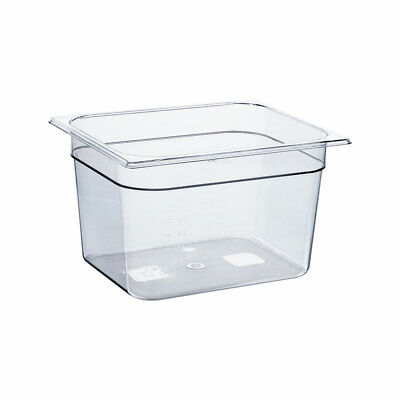 Gastronormbehälter NEW MODEL Polycarbonat GN 1/2 325x265x200mm 11,9L transparent