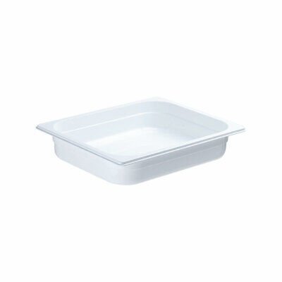 Gastronormbehälter NEW MODEL Polycarbonat weiß GN 1/2 325 x 265 x 65 mm 4,0 L