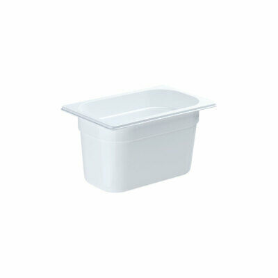 Gastronormbehälter NEW MODEL Polycarbonat weiß GN 1/4 265 x 164 x 150 mm 3,8 L
