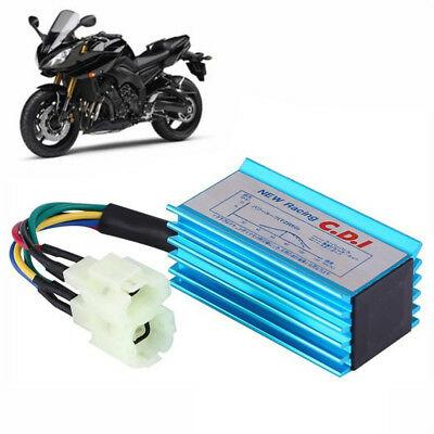 6pin Performance Racing CDI Box+Ignition Coil For GY6 Scooter Moped50CC 150CC J&