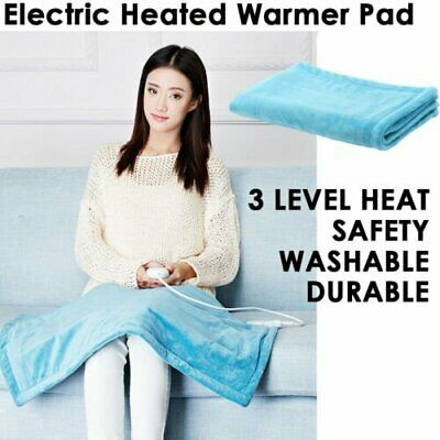 New Winter Electric Heat Pad 3 Level Heating Heater Mat Warmer Blanket Bed 100W