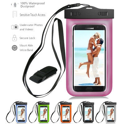 Sports Armband Waterproof Pouch Phone Dry Bag Case for Samsung Galaxy S8/S9 Plus