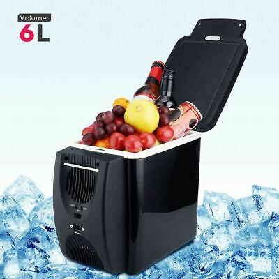 Car Refrigerator 6L Freezer Two Type Electrical Cooler Heater for Travel Hiking