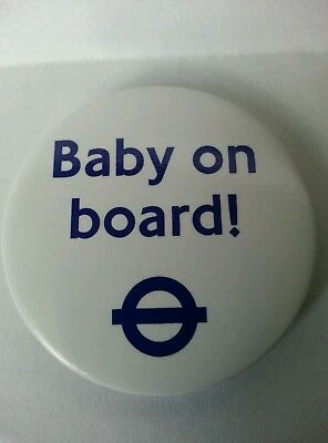 Button Baby On Board - Transport For London