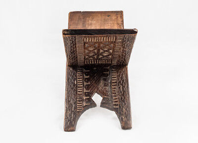 Islamic Antique Ottoman Anatolia Koran Quran Ornamented Mulberry Wood Stand