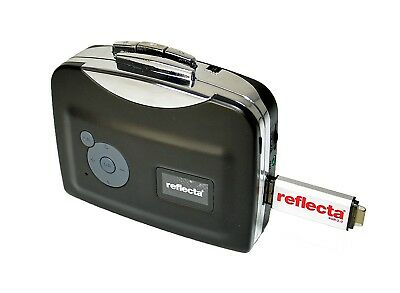 Reflecta DigiCassette USB | Convert Cassettes to MP3 on PC or Mac | Walkman