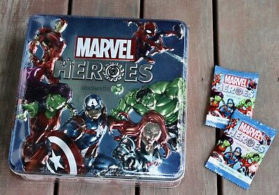 Woolworths Marvel Heroes Collectors Tin  **brand New Sealed**
