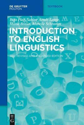 Introduction to English Linguistics by Ingo Plag 9783110376180 (Paperback, 2015)