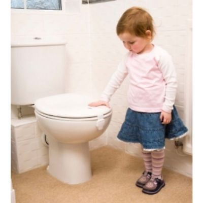 .Child Baby Toddler Proof Anti Open Easy Fit Toilet Lock TRUSTED UK SELLER