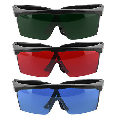 Protection Goggles Safety Glasses Green Blue Red Eye Spectacles Protective GU