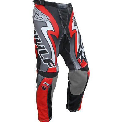 Wulfsport Red Attack Race Jean Motocross Motorcycle Pants New
