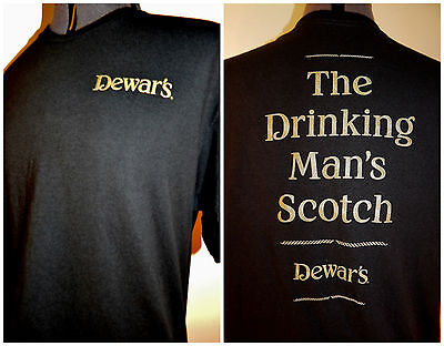 Dewars Scotch T-shirt Distillery Shirt L