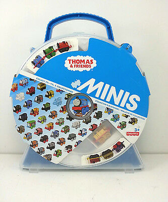 Thomas And Friends Collector's Playwheel Carrying Case with Golden Thomas New