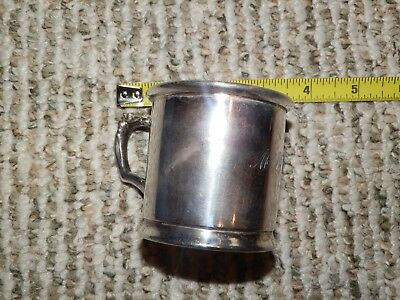 Rogers 1881 Quadruple New York Silver Plate Cup #5904